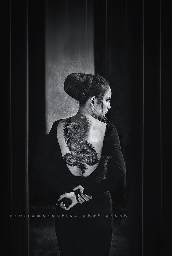 The girl with dragon tattoo by renggamarantica