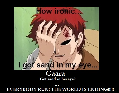 gaara of the sand by hisaharu on deviantart