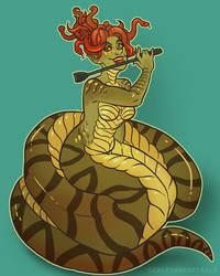 Species-swap - Gorgon by ScalesandSpirals