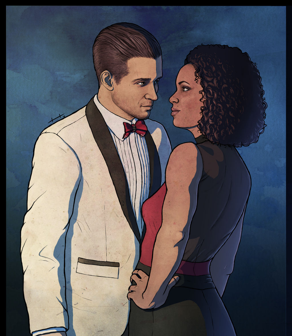 Nadine Ross And Rafe Adler Uncharted 4 By Searoth On Deviantart