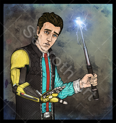 Rhys from Tales from the Borderlands by searoth