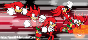 Knuckles: Action Sequence!