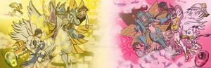 Patamon/Gatomon Tri: Fallen Angels (w/Ophanimon)