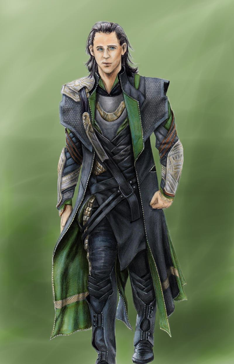 Loki Laufeyson by PapouJunkie