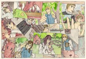 The Priest comic, mix pic