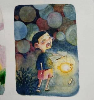 Broken lantern