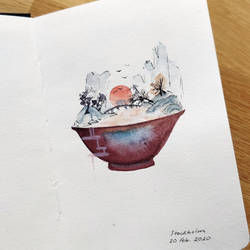 A world in a cup