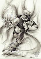 Naruto's Chakra by Greymaulkin