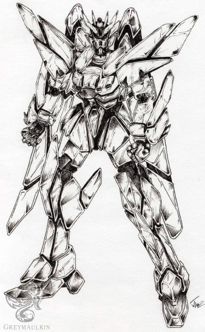 Original Gundam by Greymaulkin