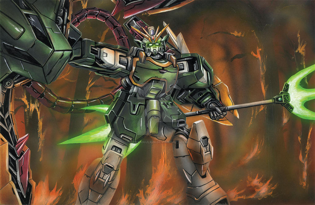 Endless Waltz Altron Gundam - Nataku by Greymaulkin on ...