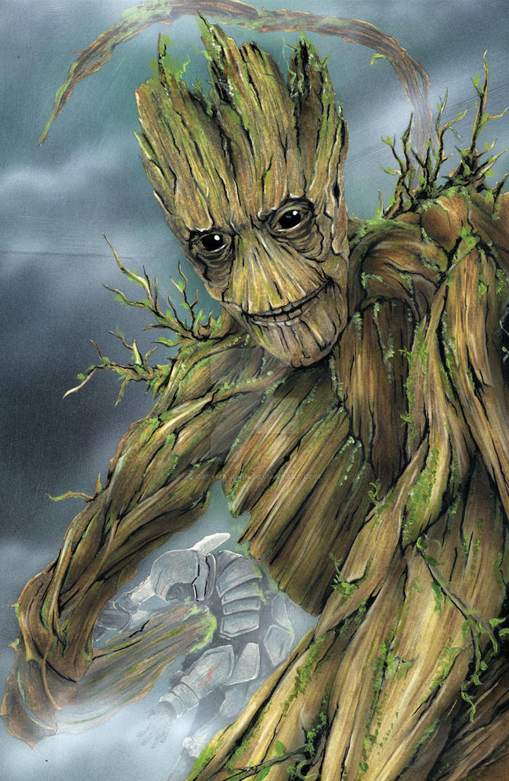 I am Groot by Greymaulkin