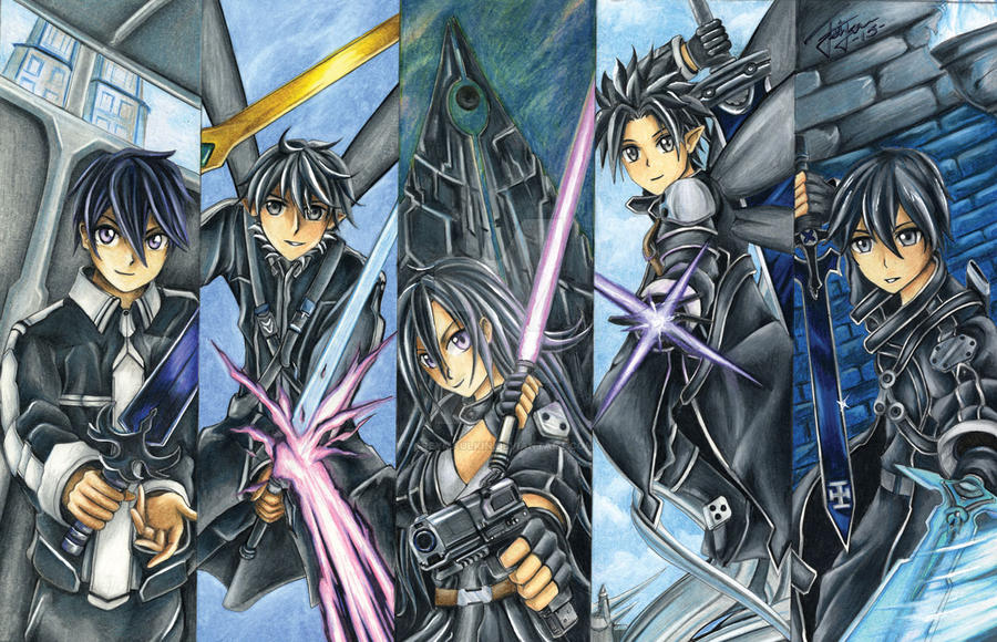 Avatars of Kirito by Greymaulkin