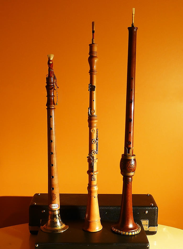 Old-School Reed Instruments by stofo