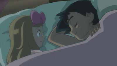 Ash/Satoshi sleeps with Serena by Empire-of-PokeJapan