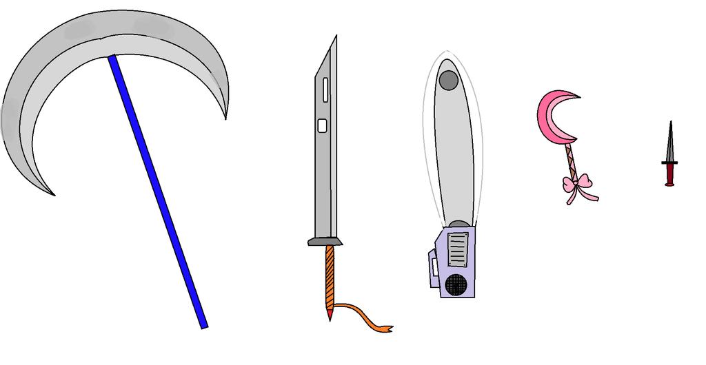 Puplica Weapons: Blade type by CreshendoCanine