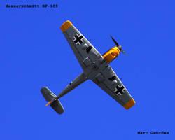 Messerschmitt BF-109 by eeyoremd