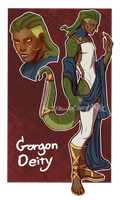 Gorgon Deity Auction [Closed] by Strawbearrymilk