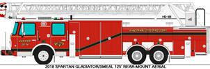 Waltham City Fire Department Ladder 3
