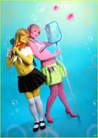 Spongebob and Patrick by Amapolchen