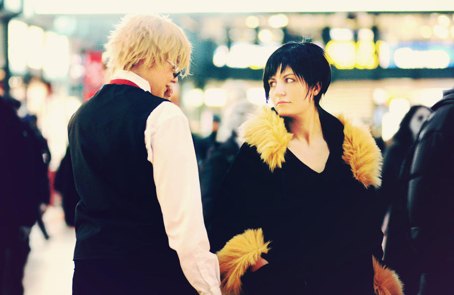 Durarara - Shizuo and Izaya 6 by Amapolchen