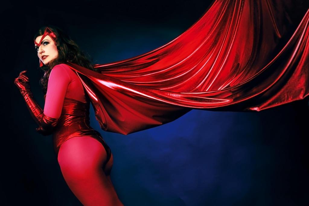 Marvel: Scarlet Witch / Wanda Maximoff - 3 by Amapolchen