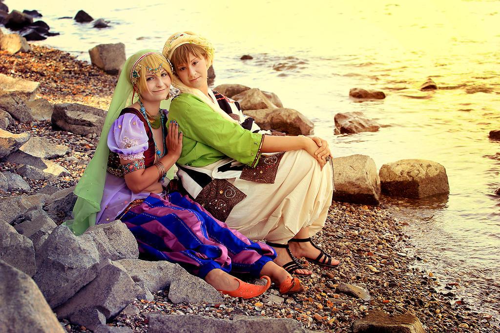 Free! Nagisa and Makoto 2 by Amapolchen