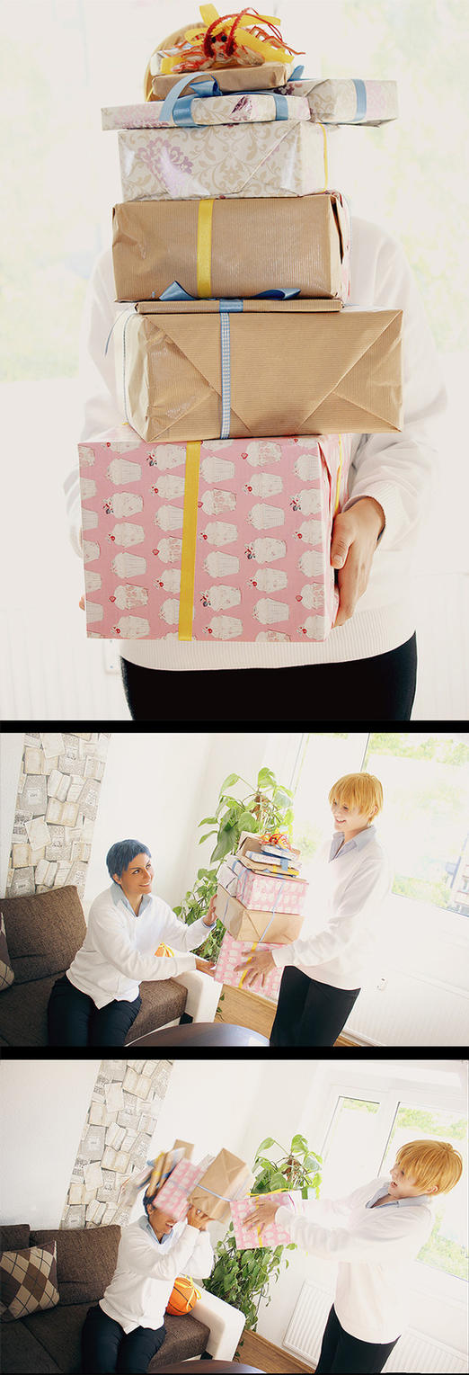 KnB: Happy Birthday Aominecchi by Amapolchen