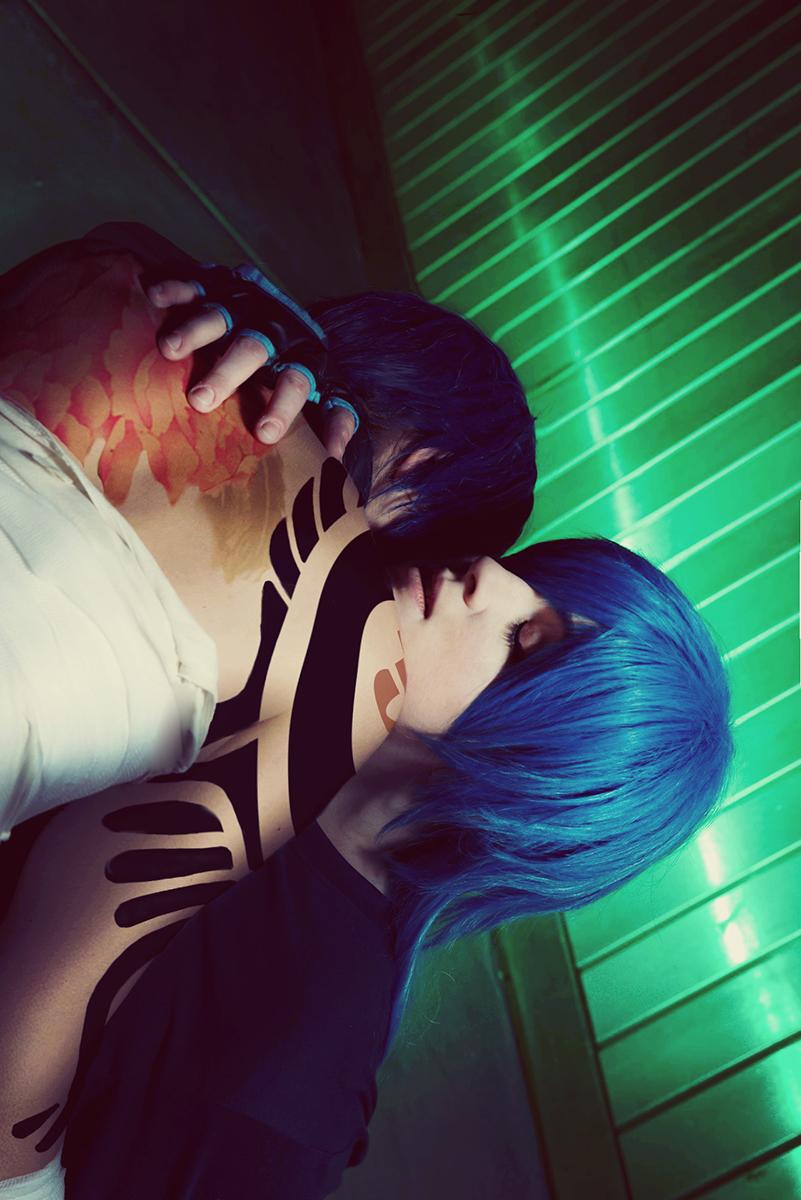 DRAMAtical Murder: Koujaku  and Aoba by Amapolchen