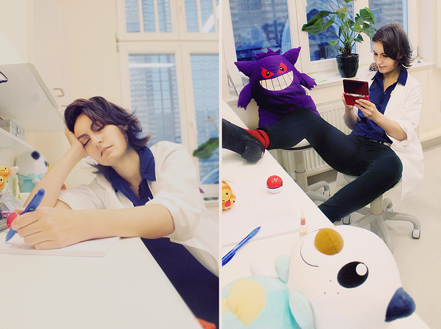 Pokemon: Professor Sycamore by Amapolchen