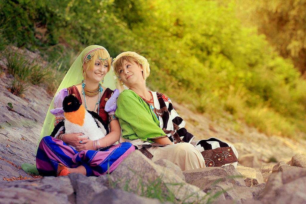 Free! Nagisa and Makoto 3 by Amapolchen