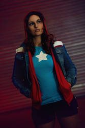 Marvel: Miss America Chavez 4 by Amapolchen
