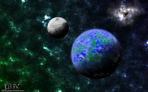 Artificial Moon by n0n0nSenSe