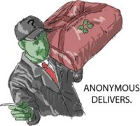 Anonymous Delivers by Chiko21