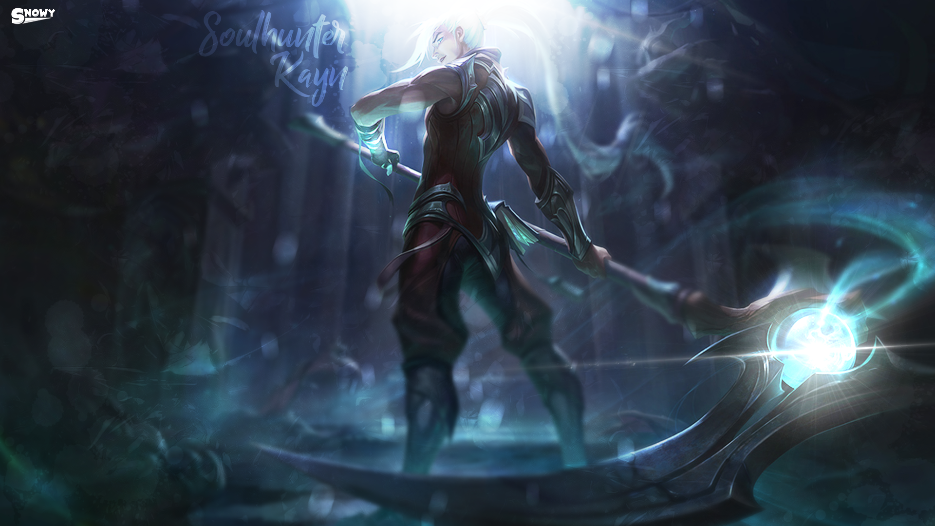 League Of Legends Soulhunter Kayn By Massi001 On Deviantart