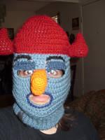 K'nuckles mask hat by Sugarcoatidli3z