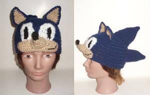 Sonic hat by Sugarcoatidli3z
