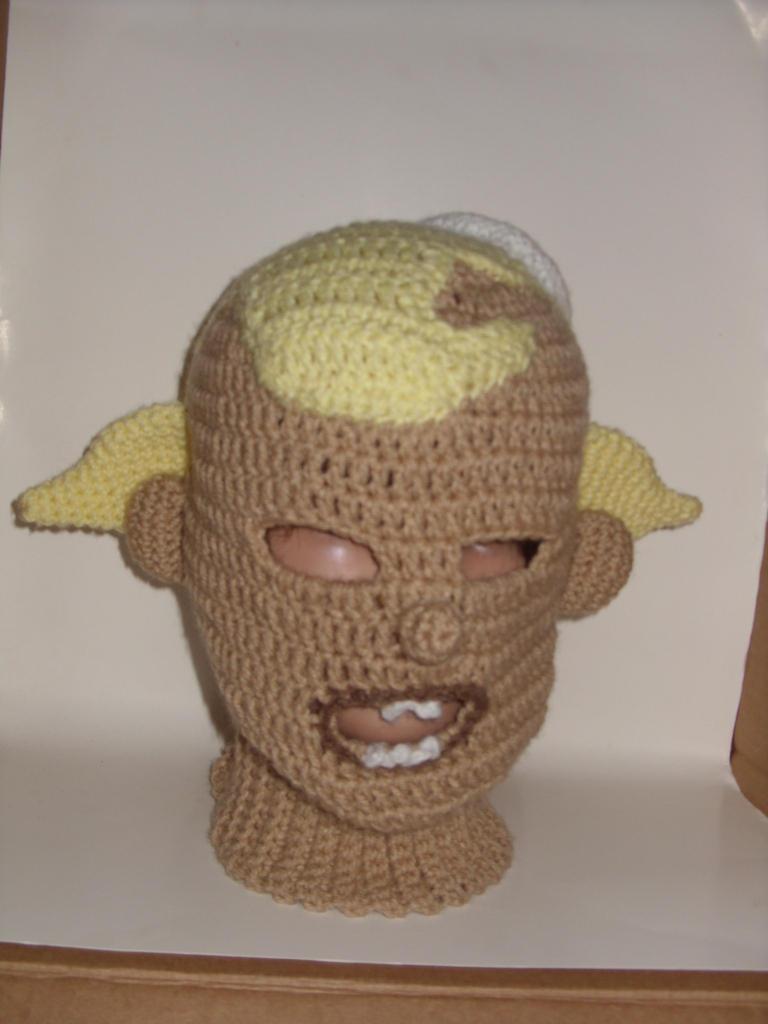 Flpjck mask hat needs eyebrows