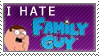 I Hate Family Guy stamp by Sugarcoatidli3z