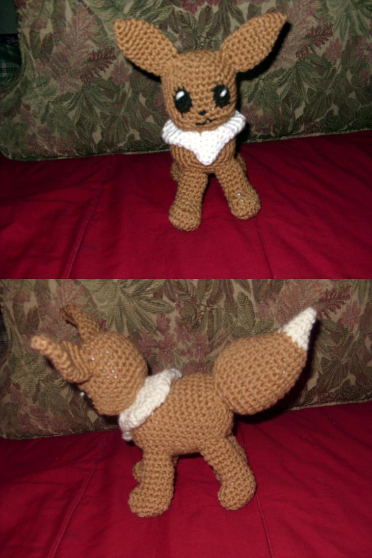 Amigurumi Crochet Pattern Etsy : Eevee amigurumi by Sugarcoatidli3z on deviantART