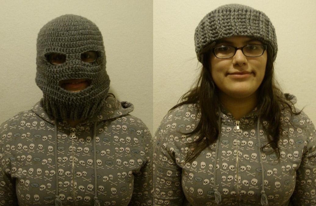 Enchanting Crochet Ski Mask Pattern Crest Blanket Knitting Pattern
