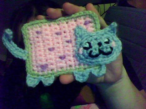 Crochet Nyan Cat