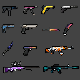 Weapons CSGO by namdevil9x