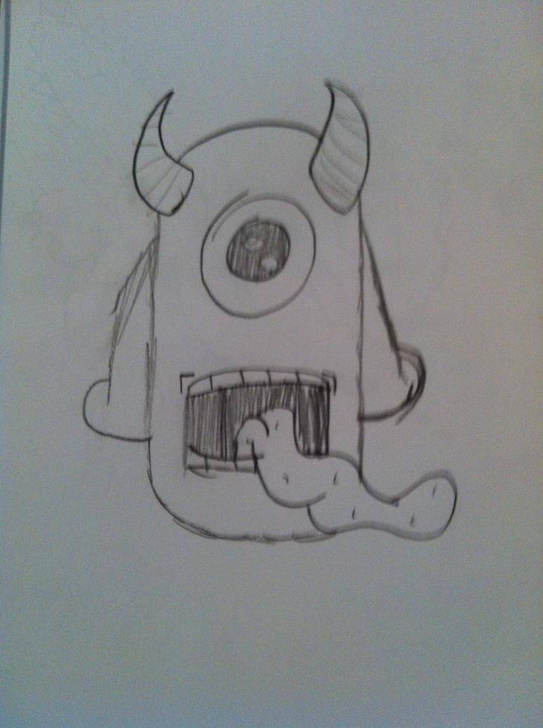 Graffiti Monster by lucanelsonspratt