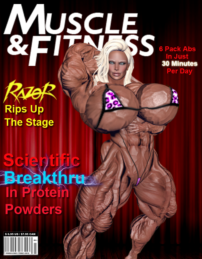 magazine cover by mk1210