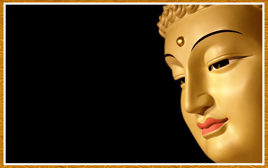 Half Face Buddha 02 By Tulinhkwanyin