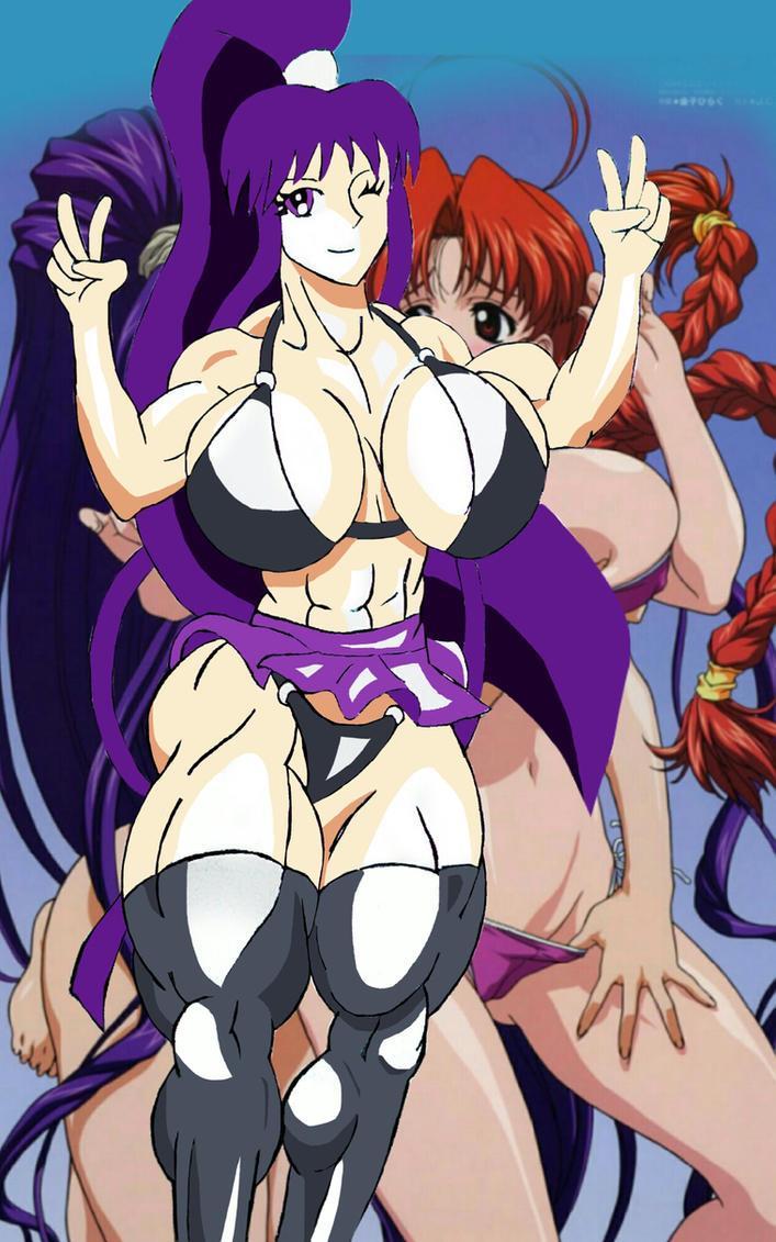 Kirika HOT Musclegirl!!! by camuskilller1904