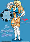 Tetsuko as The Invisible Woman!!!