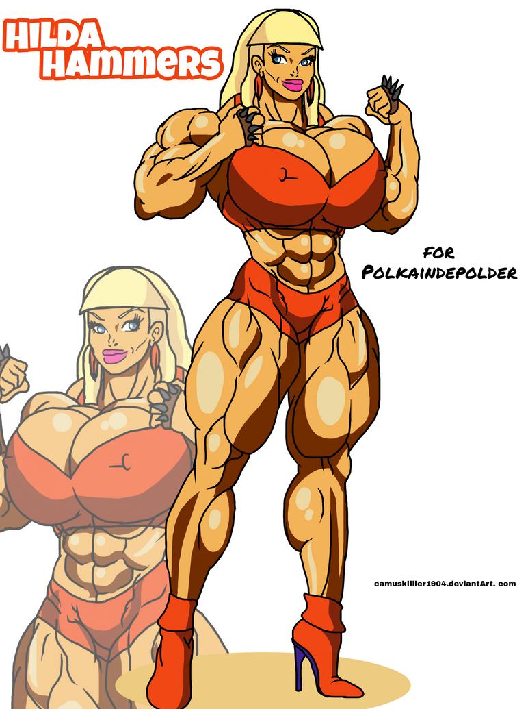 Hilda OC! by camuskilller1904