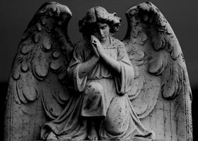 Praying Angel by rosscaughers