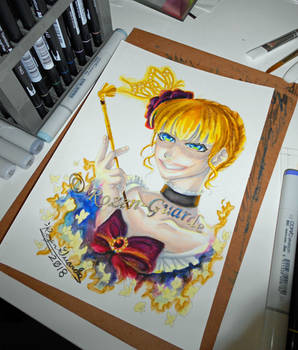 Fanart Friday_Beatrice the Golden Witch